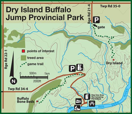 dry-island-buffalo-jump-provincial-park